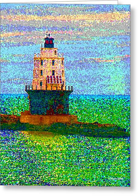 Houses Of Refuge Digital Art Greeting Cards - DElight House Greeting Card by Clara Sue Beym