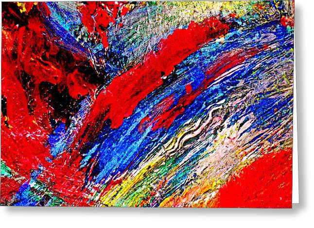 Michael Durst Greeting Cards - Delirium Greeting Card by Michael Durst
