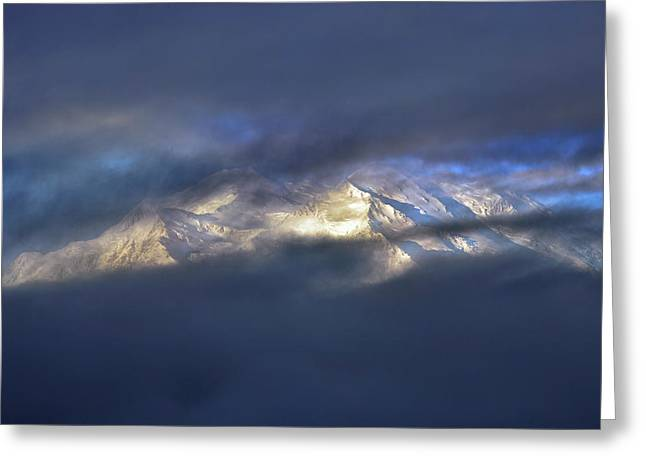 Denali Greeting Cards - Denali  Greeting Card by Rick Berk