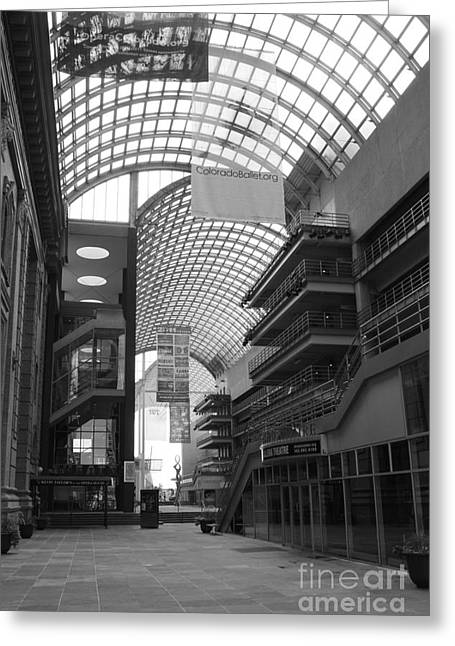 Denver Center For Performing Arts Greeting Card by David Bearden