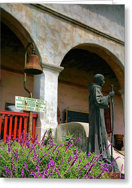 Spanish Art Sculpture Greeting Cards - Depiction of Pilgrimage Greeting Card by Steven Ainsworth