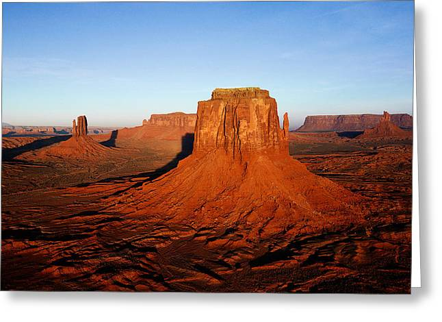 desert Greeting Card by Dhirendra  Jaiswal