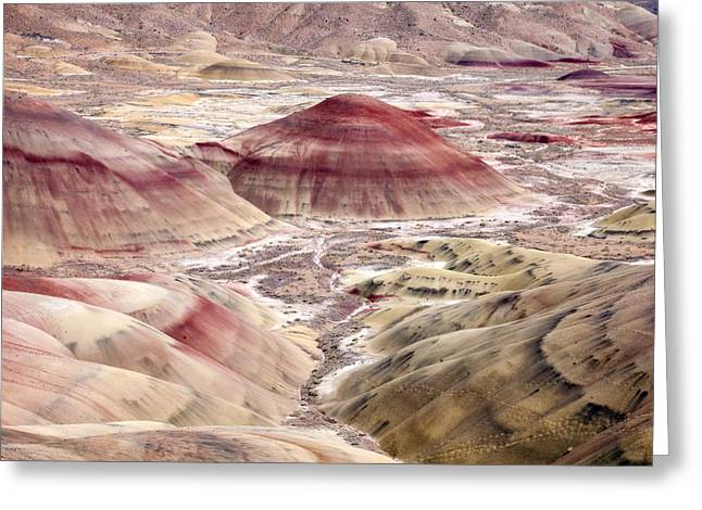 Paint Photographs Greeting Cards - Desert Palette Greeting Card by Mike  Dawson