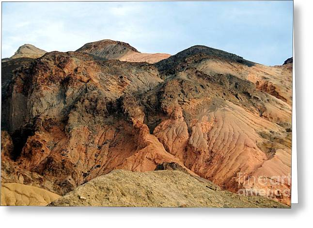 Struckle Greeting Cards - Desert View Greeting Card by Kathleen Struckle