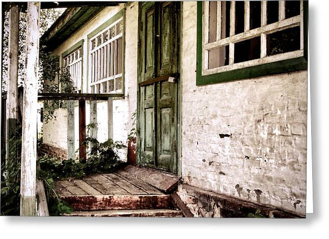 Deserted Not Forgotten Greeting Card by Julie Palencia