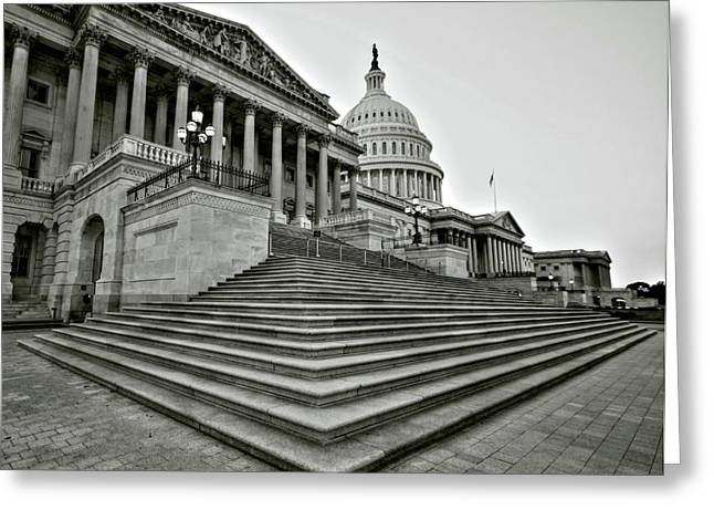 Capitol Greeting Cards - Design in Providence Greeting Card by Mitch Cat