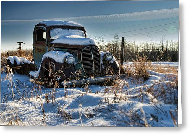 Saskatchewan Prairies Greeting Cards - Desire or the Truth Greeting Card by Wayne Stadler
