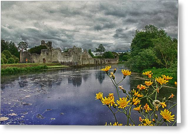 Limerick Greeting Cards - Desmond Castle Adare County Limerick Ireland Greeting Card by Joe Houghton