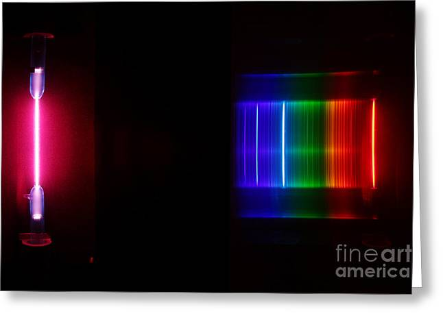 Spectra Greeting Cards - Detuteri Spectra Greeting Card by Ted Kinsman