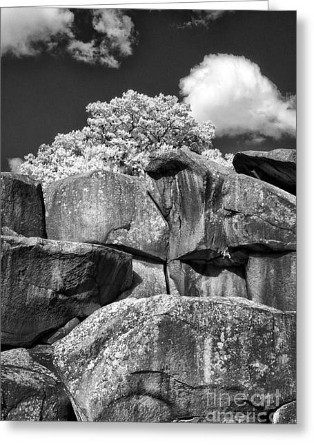 Devils Den Greeting Cards - Devils Den - 39 Greeting Card by Paul W Faust -  Impressions of Light
