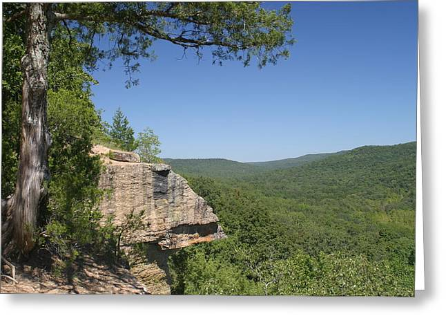Devils Den Greeting Cards - Devils Den Arkanas Greeting Card by Norman Crostic