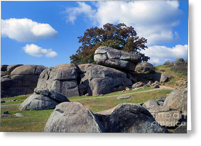 Recently Sold -  - Devils Den Greeting Cards - Devils Den Formation 25 Greeting Card by Paul W Faust -  Impressions of Light