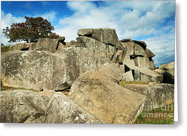 Recently Sold -  - Devils Den Greeting Cards - Devils Den Formation 87 Greeting Card by Paul W Faust -  Impressions of Light