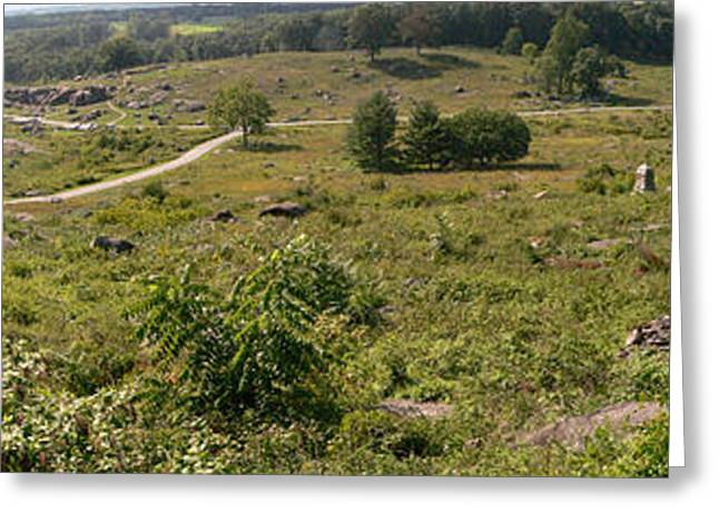 Devils Den Greeting Cards - Devils Den from Little Round Top Greeting Card by David Bearden