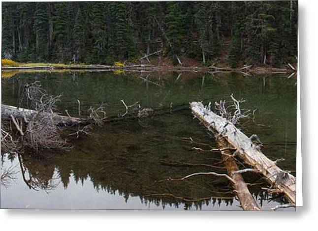 Mt Bachelor Greeting Cards - Devils Lake Oregon Greeting Card by Twenty Two North Photography