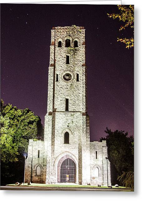 Weird New Jersey Greeting Cards - Devils Tower Greeting Card by Mauricio Fernandez