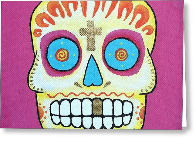Steve Miller Greeting Cards - Dia De Los Muertos 1 Greeting Card by Steve Miller