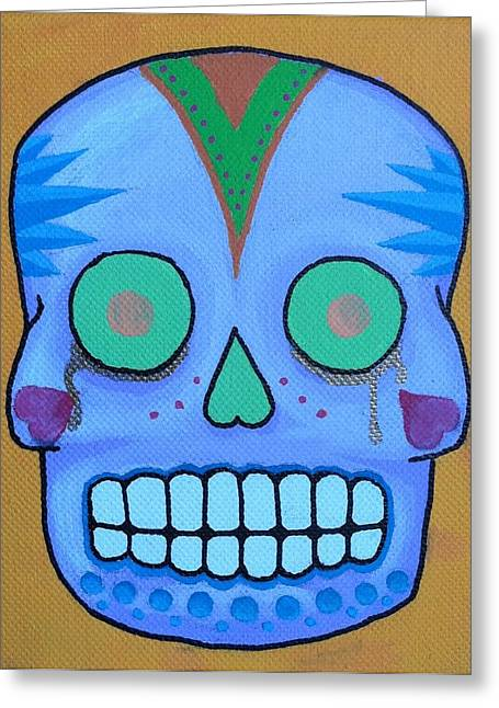Steve Miller Greeting Cards - Dia De Los Muertos 2 Greeting Card by Steve Miller