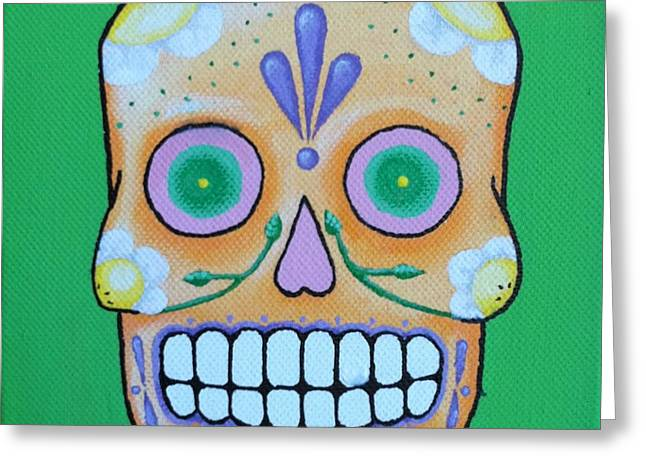 Steve Miller Greeting Cards - Dia De Los Muertos 3 Greeting Card by Steve Miller