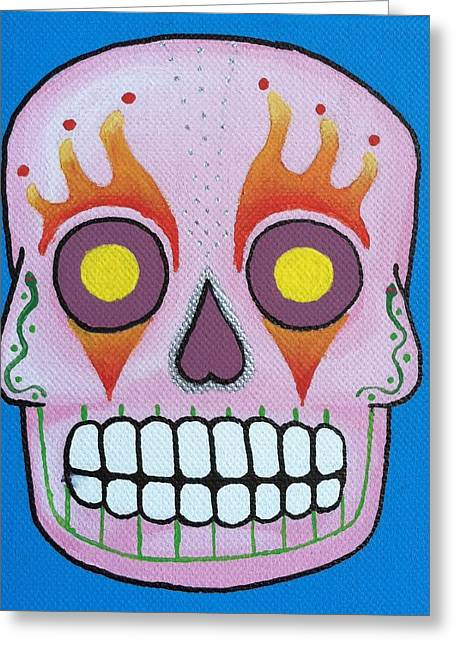 Steve Miller Greeting Cards - Dia De Los Muertos 4 Greeting Card by Steve Miller