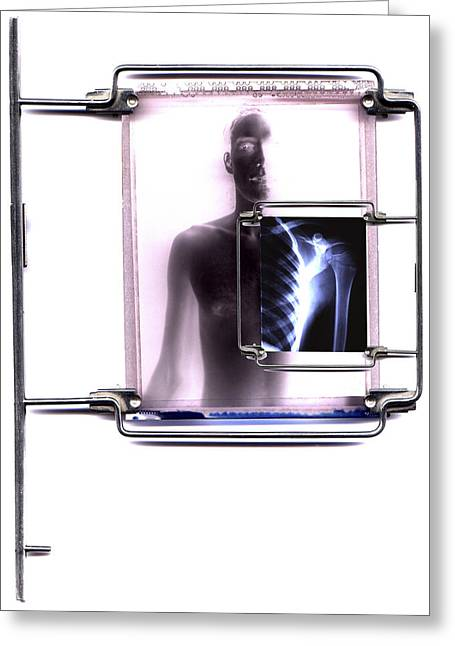 Trial Greeting Cards - Diagnostic Imaging Greeting Card by Neal Grundy