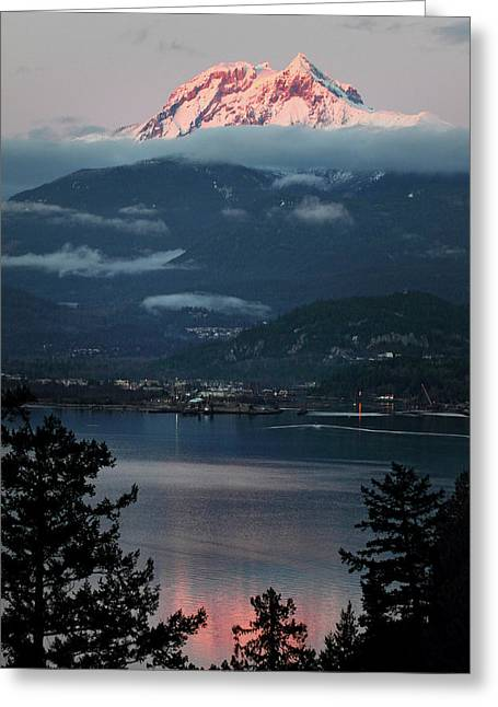 Diamond Head Squamish Greeting Card by Pierre Leclerc Photography