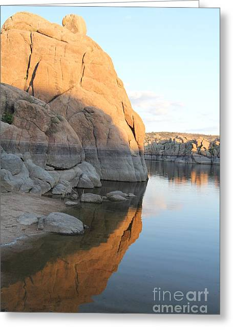 Watson Lake Greeting Cards - Diane Greco-Lesser Greeting Card by Diane  Greco-Lesser