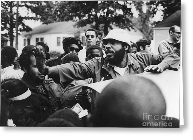 Peace Activist Greeting Cards - Dick Gregory (1932- ) Greeting Card by Granger