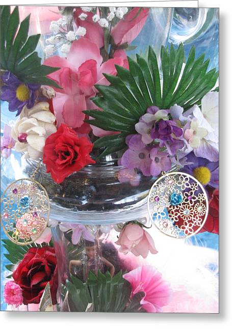 Print Card Glass Art Greeting Cards - Different Kind Of Art Greeting Card by HollyWood Creation By linda zanini