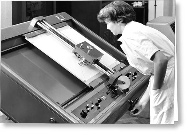 Computational Greeting Cards - Differential Analyser, 1954 Greeting Card by National Physical Laboratory (c) Crown Copyright