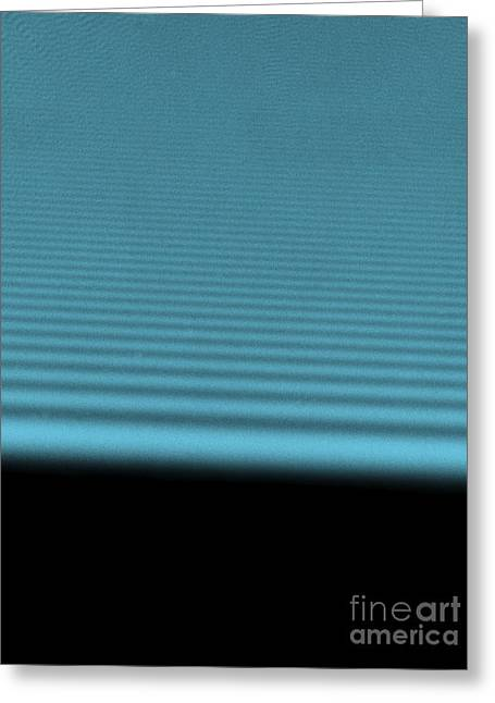 Photonic Greeting Cards - Diffraction Of Laser Beam Greeting Card by Omikron