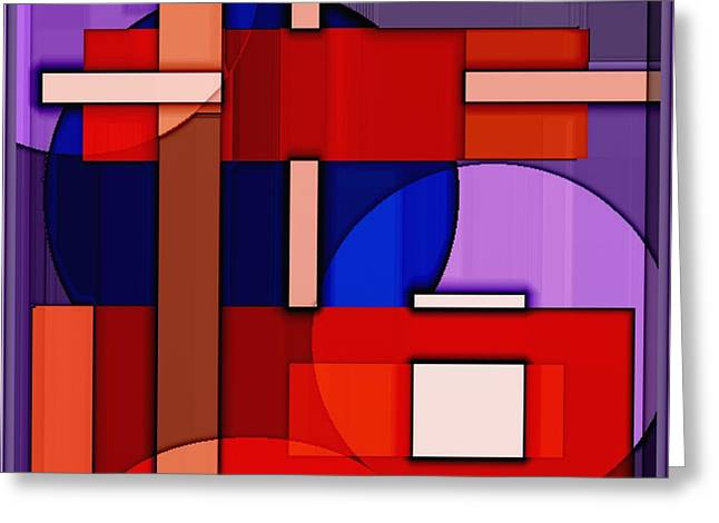 Abstract Digital Paintings Greeting Cards - Digital design 406 Greeting Card by Nedunseralathan R