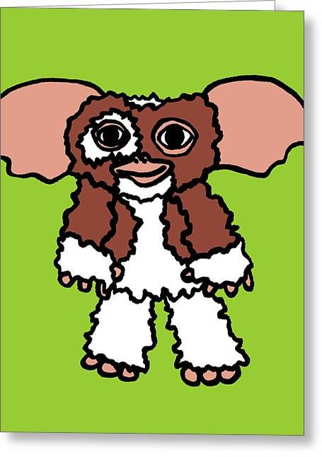 Character Portraits Greeting Cards - Digital Gizmo Greeting Card by Jera Sky