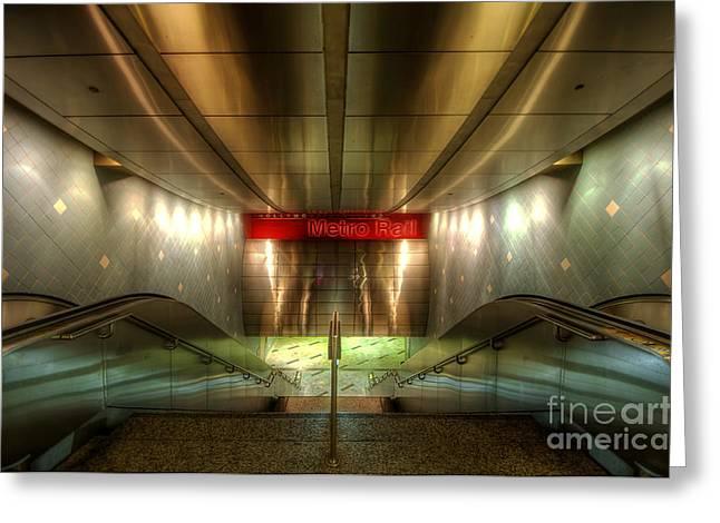 Digital Underground Greeting Card by Yhun Suarez