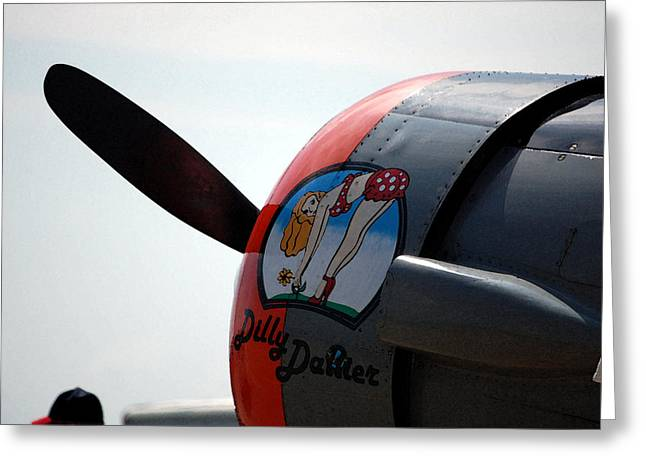 Propeller Greeting Cards - DillyDallier Greeting Card by Jame Hayes