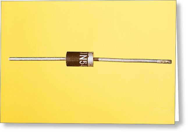 Semiconductor Greeting Cards - Diode Greeting Card by Andrew Lambert Photography