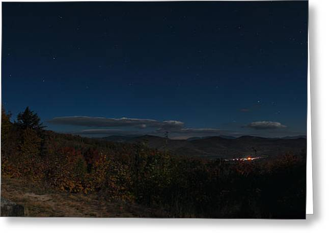 Little Dipper Greeting Cards - Dipper over Bear Notch Road 2 Greeting Card by Geoffrey Bolte