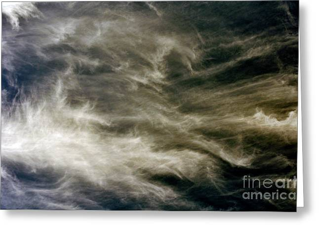 Dirty Clouds Greeting Card by Clayton Bruster