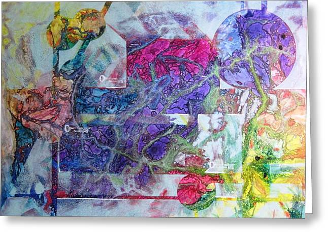 Discovery Mixed Media Greeting Cards - Discover Greeting Card by David Raderstorf