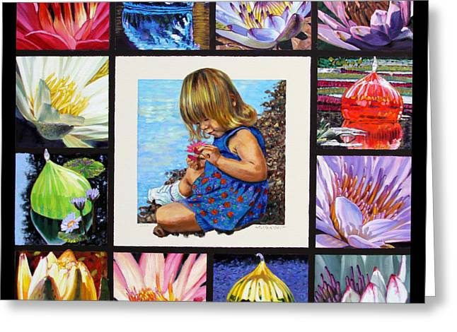 Various Greeting Cards - Discovering the Beuty of the Lily Greeting Card by John Lautermilch