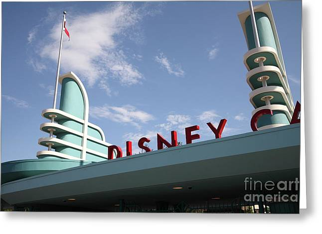 Disney California Adventure Park Greeting Cards - Disney California Adventure - Anaheim California - 5D17525 Greeting Card by Wingsdomain Art and Photography