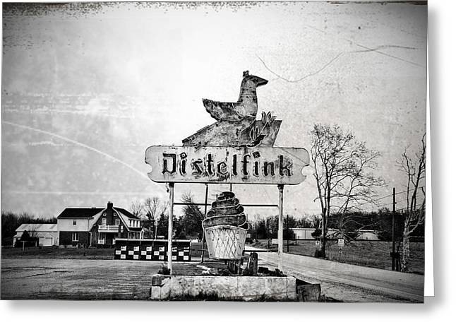 Pennsylvania Dutch Greeting Cards - Distelfink - Gettysburg Greeting Card by Bill Cannon