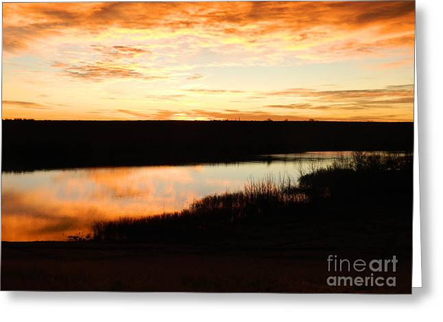 Fort Collins Greeting Cards - Dixon Reservoir Sunrise Greeting Card by Sara  Mayer