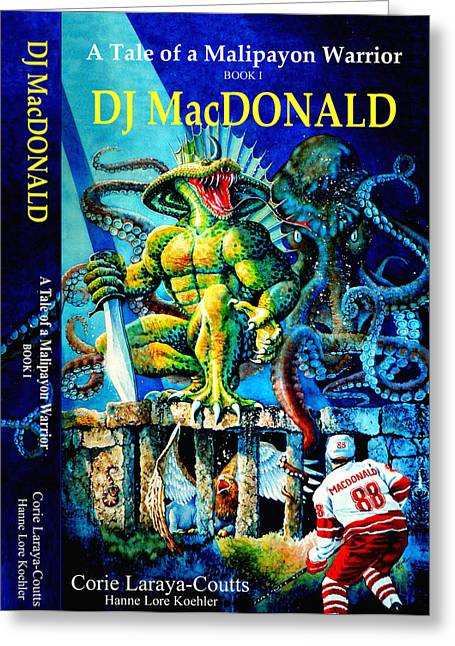 Canadian Illustrator Greeting Cards - DJ MacDonald Book Cover Greeting Card by Hanne Lore Koehler