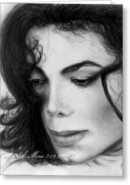 Recently Sold -  - Mj Drawings Greeting Cards - Do You Remember When We Fell In Love Greeting Card by Carliss Mora