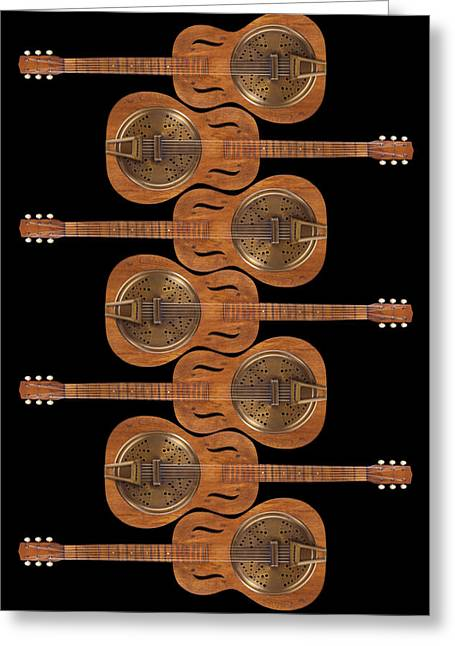 Ivory Art Greeting Cards - Dobro 3 Greeting Card by Mike McGlothlen