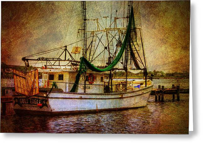 Water Vessels Greeting Cards - Docked in Backbay Greeting Card by Barry Jones