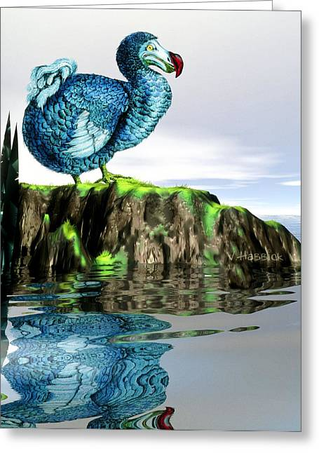 Dodo Greeting Cards - Dodo Greeting Card by Victor Habbick Visions