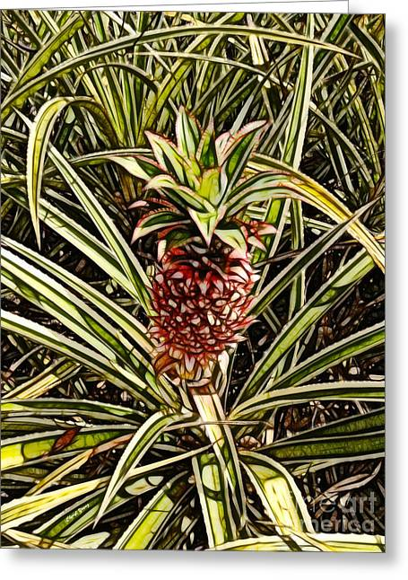 Canned Fruit Greeting Cards - Dole 3 Greeting Card by Cheryl Young