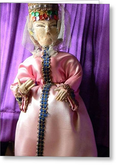 Doll Greeting Cards - Doll 88 Greeting Card by Anita V Bauer